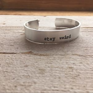 Jewelry - Stay Weird Bracelet